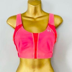 under armour pink sports bra size 32DD